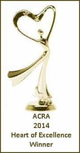 ACRA 2014 Heart of Excellence Winner's Trophy